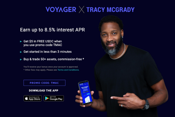 Voyager Digital & Tracy McGrady