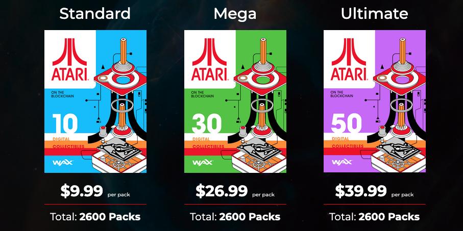 WAX blockchain Atari digital collectibles