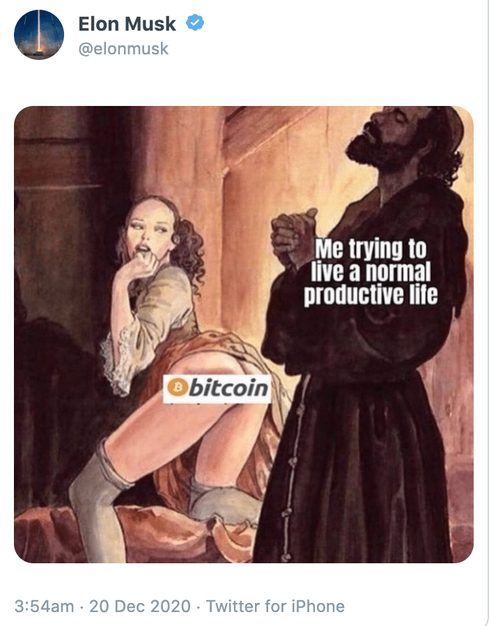 Elon Bitcoin Meme