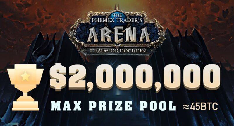 The Phemex Trader's Arena is back - with a prize pool of up to $2,000,000