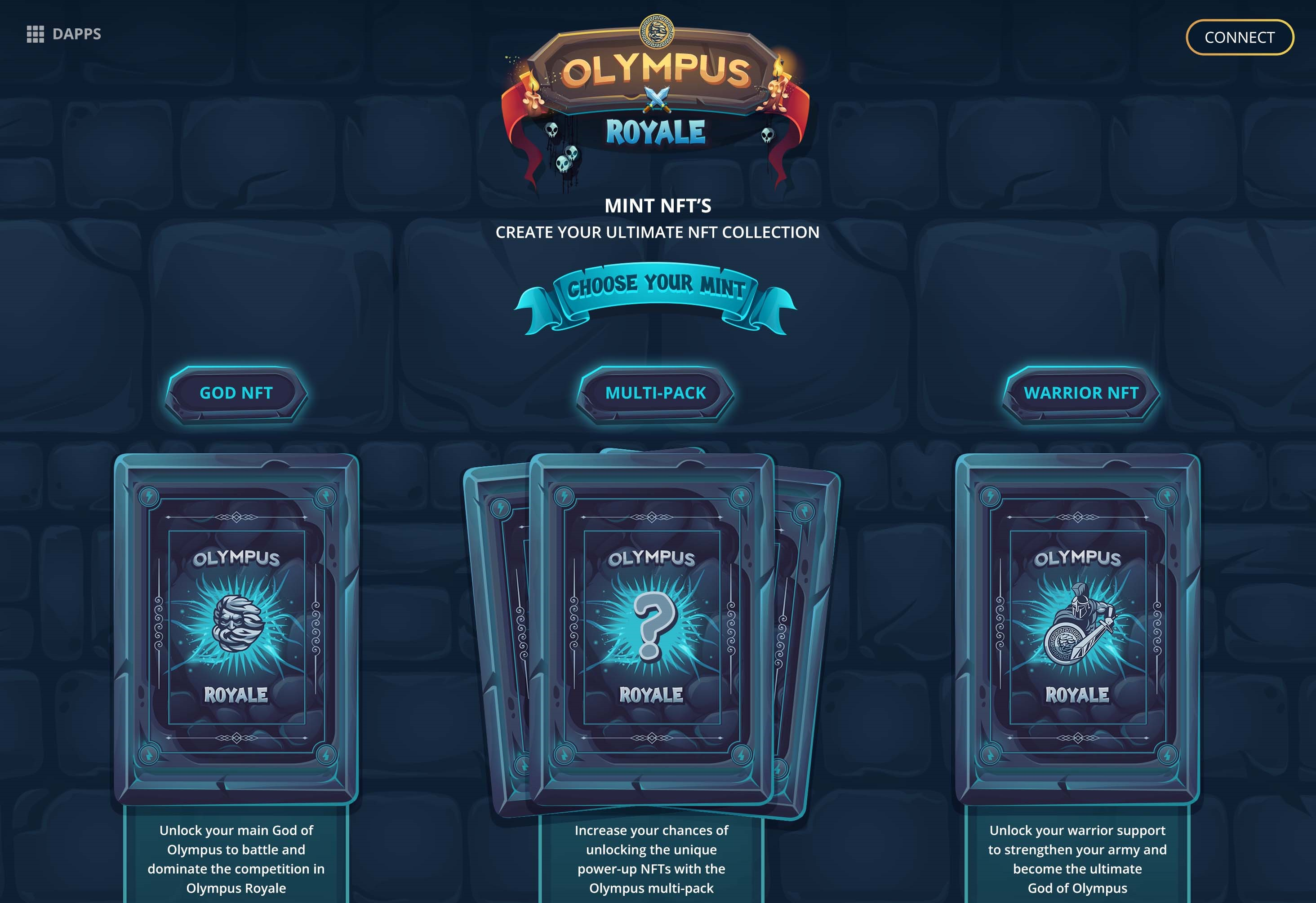 Olympus Locker, Pre-Sale Launchpad, and NFT game